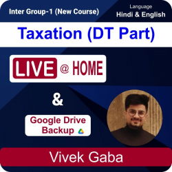 Taxation (DT PART) Live + Google Drive Backup