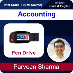 Intermediate - 1 Accounting Pen Drive Batch