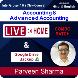Inter Group-1 & 2 Accounting &  Advanced Accounting Live...