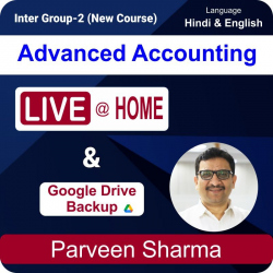 Intermediate Group - 2 Advanced Accounting Live at Home...