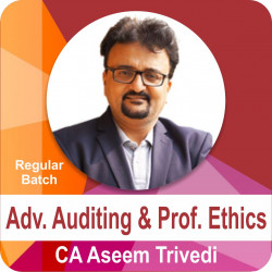 Adv. Auditing and Prof. Ethics (Regular Batch)
