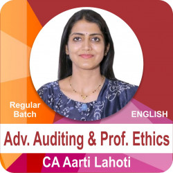 Adv. Auditing and Prof. Ethics (English Regular Batch)