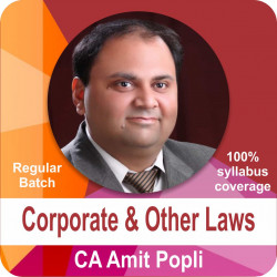 Corporate and Other Laws (Regular Batch)