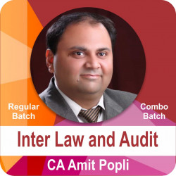 Combo Batch Inter Law and Audit (Regular Batch)